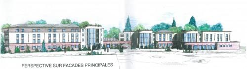 Montage des projets avec les acquéreurs de charges foncières : Etablissement médico social- Foyer handicapés (Bouygues Immobilier ; AFASER)