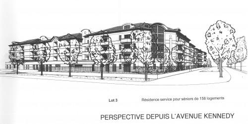 Montage des projets avec les acquéreurs de charges foncières : Résidence seniors (projet Séréniales)